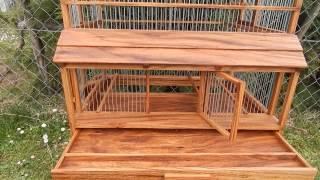 Wooden Birdcage 9
