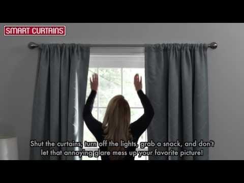 Maytex Smart Curtains Ultimate Light Blocker Window Panel