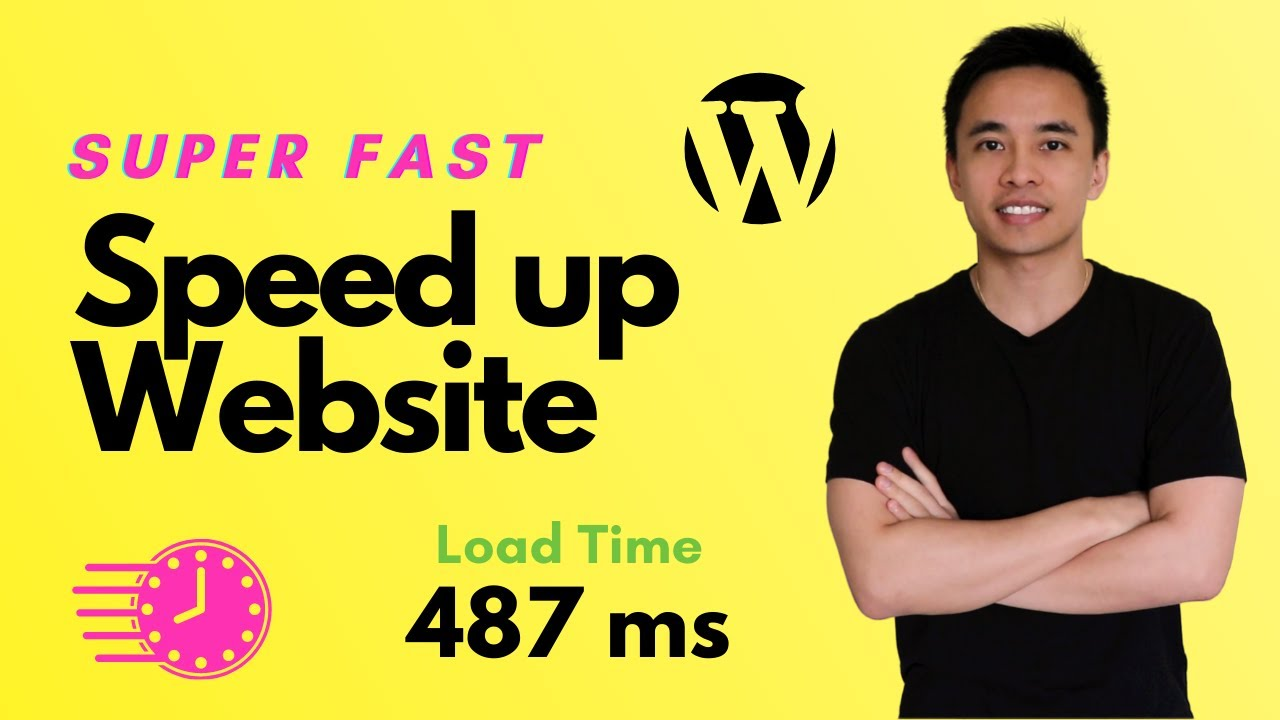 How to Speed Up Your WordPress Website - Faster Speed & Load Times 2020!