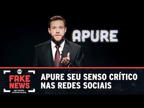 SBT Contra Notícia Falsas: apure seu senso crítico nas redes sociais