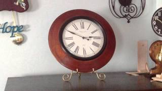 Sterling And Noble Wooden Wall Clock
