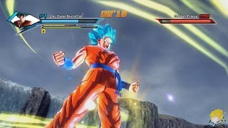 Dragon Ball Xenoverse (PC): Goku Transforms into Super Saiyan Blue Gameplay  [MOD]【60FPS 1080P】