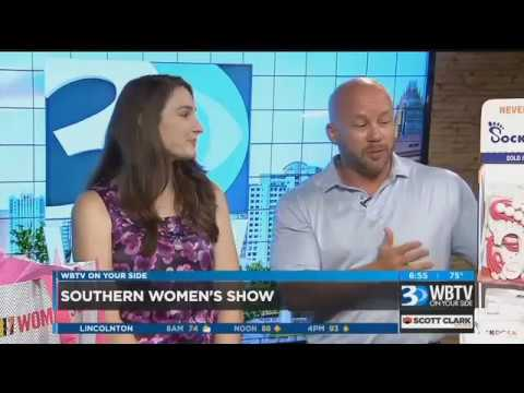 SockDock Interview with WBTV Channel 3 News