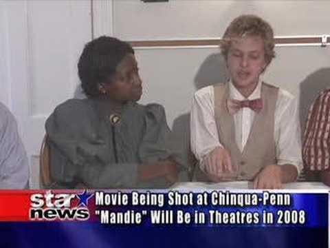 """Cast of """"Mandie"""" Interviewed on Star News"""
