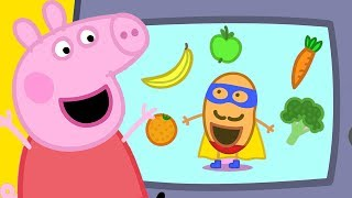 Peppa Pig Official Channel  Super Potato At Peppa Pigs Playgroup