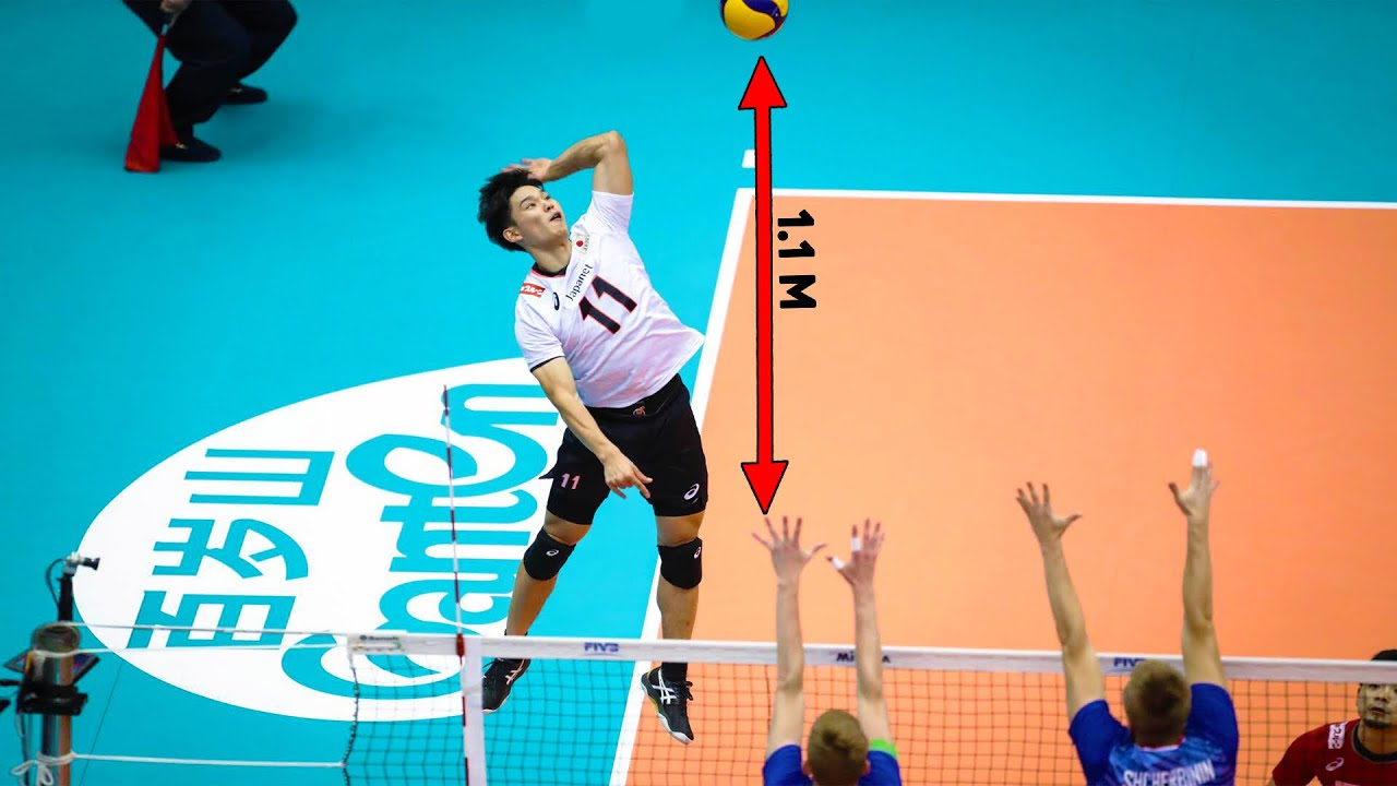 19 Years Old Yuji Nishida 西田 有志   The Best Jumper in Volleyball History (HD)