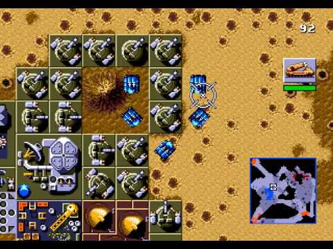 Dune The Battle For Arrakis Walkthrough/Gameplay Sega Genesis HD #4