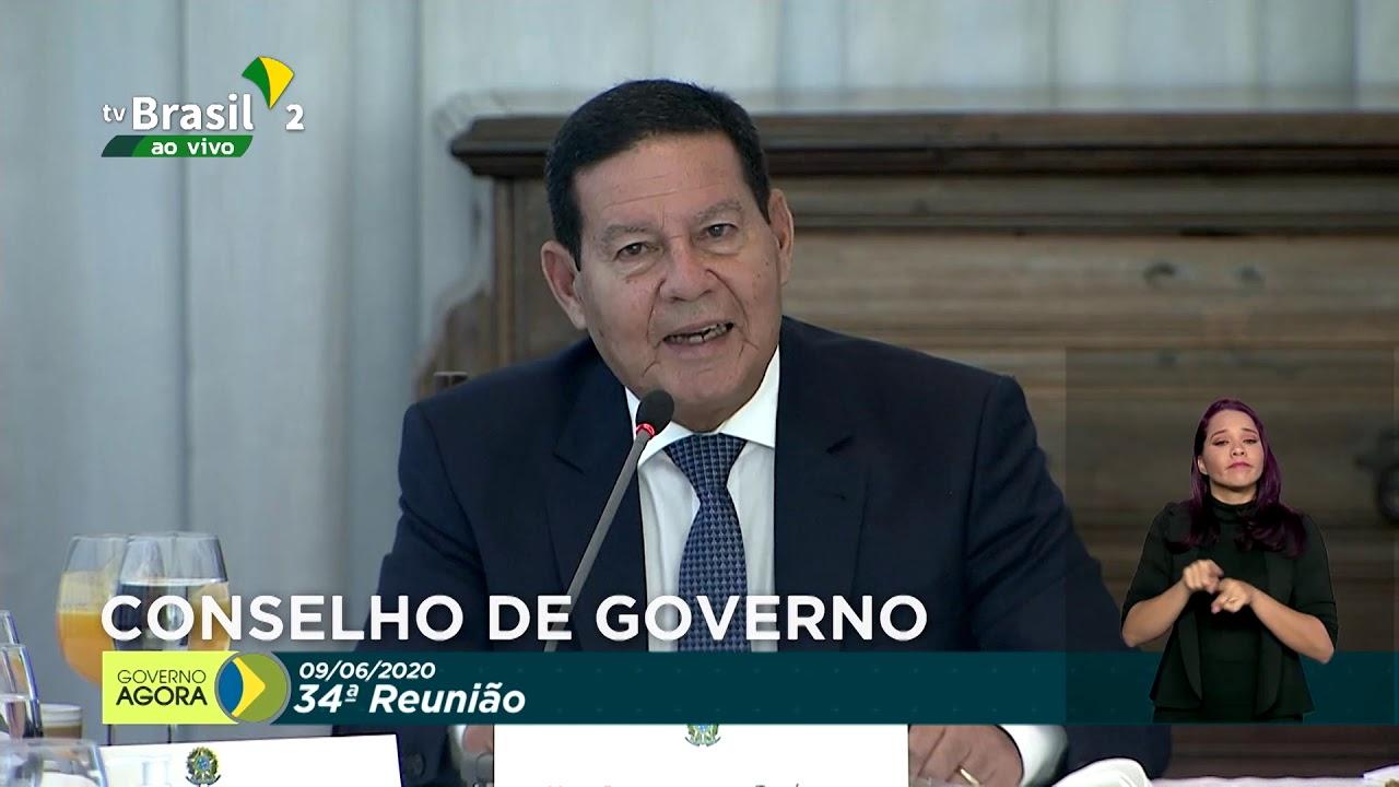 34ª Reunião do Conselho de Governo