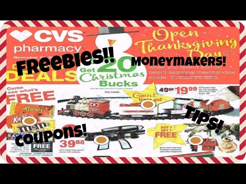 CVS BLACK FRIDAY AD/ COUPON PLAN 2016!!