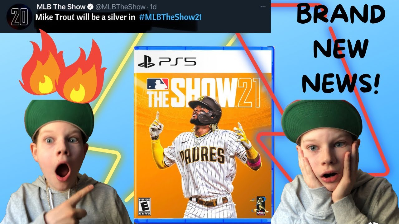 *BRAND NEW* MLB THE SHOW 21 NEWS!!