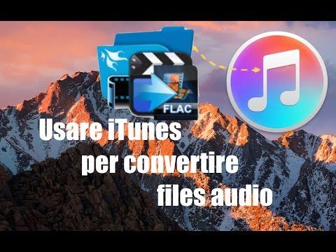Tutorial Mac #113 - Usare iTunes per convertire files audio