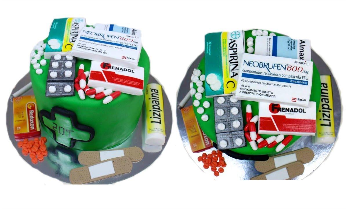 Pharmacy Birthday Cakes