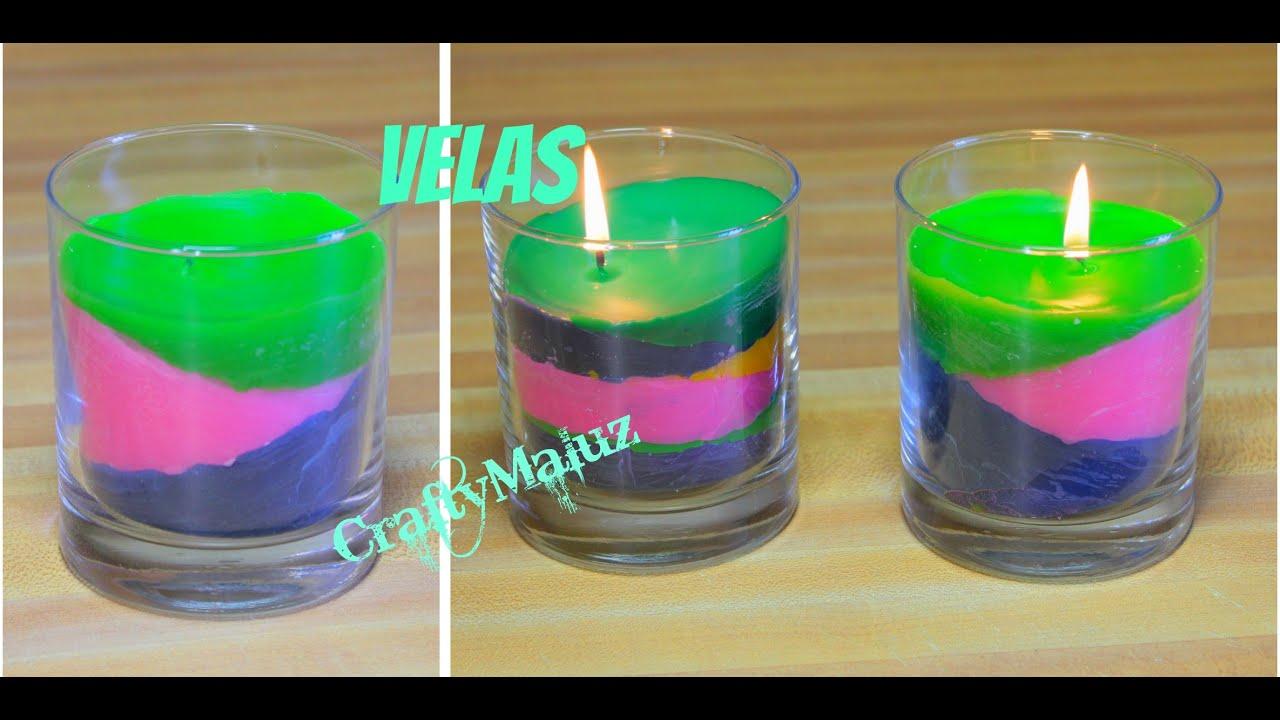 Diy velas de colores como hacer velas con crayolas for Como fabricar velas caseras