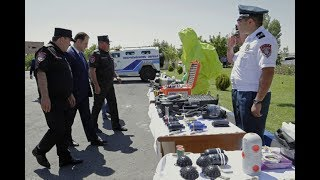 Ոստիկանության զորքերի 25-ամյա հոբելյանը