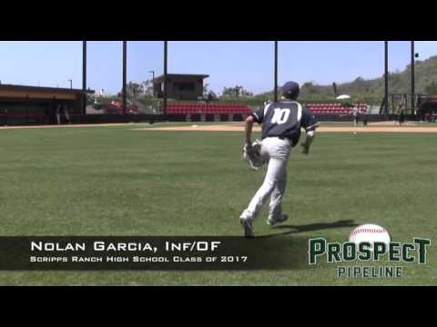 Nolan Garcia Prospect Video, Inf_OF, Scripps Ranch High School Class of 2017 @troskybaseball