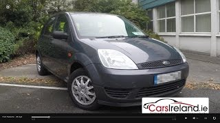 Ford Fiesta 2002-2008 Review by CarsIreland.ie