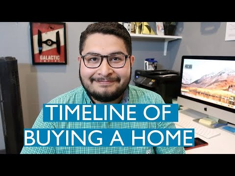 A Timeline for Buying a House (First Time Home Buyers)