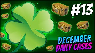 UNLUCKY LUCKY NUMBER 13? ★ DECEMBER DAILY CASES DAY 13 - CS:GO CASE OPENING / UNBOXING