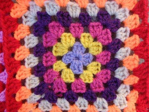 Motif για πλεκτή crochet κουβέρτα [part01]