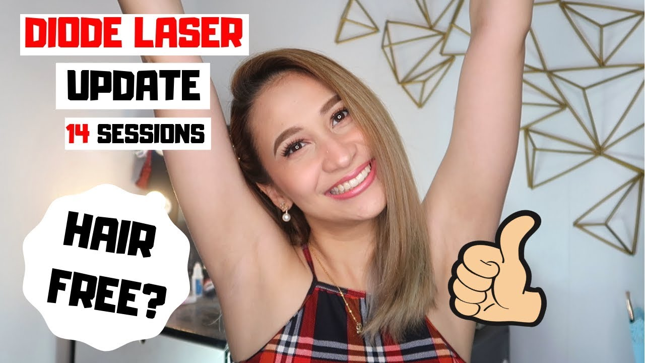 Diode Laser Hair Removal Update Skin Station Underarm Hair