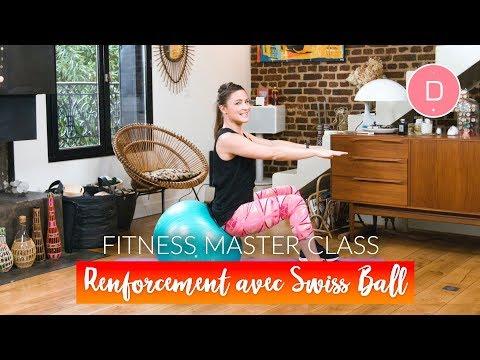 Exercices avec Swiss ball  (20 min)– Fitness Master Class