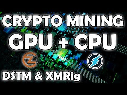 Crypto Mining With GPU + CPU Tutorial - Get The Most Profit From Your Computer