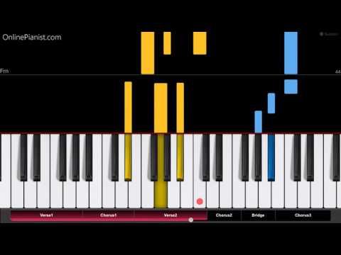 Nicky Jam - El Amante - EASY Piano Tutorial