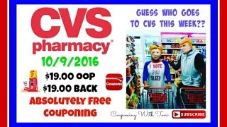 Video CVS Couponing 10/9/16 | ALL THIS for FREE | I Broke Even Exactly!!! download MP3, 3GP, MP4, WEBM, AVI, FLV November 2017