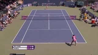 2016 Bank of the West Classic Hot Shot | Venus Williams