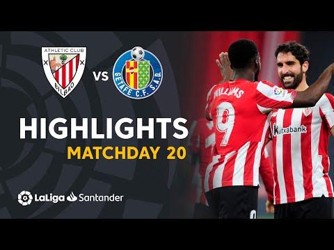 Ath. Bilbao Getafe Goals And Highlights