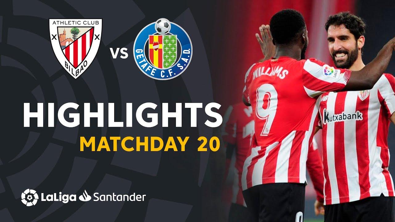 Highlights Athletic Club vs Getafe CF (5-1)