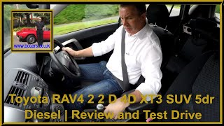 Review and Virtual Video Test Drive in our Toyota RAV4 2 2 D 4D XT3 SUV 5dr Diesel