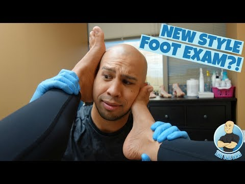 How To Perform A Foot Exam - FULL BIOMECHANICAL EXAM