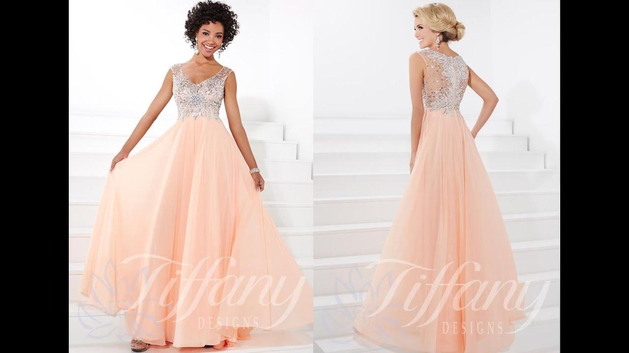 Peaches Prom Dresses In Chicago - Eligent Prom Dresses