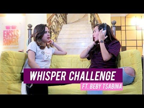 Steffi Zamora - WHISPER CHALLENGE Ft. Beby Tsabina!!