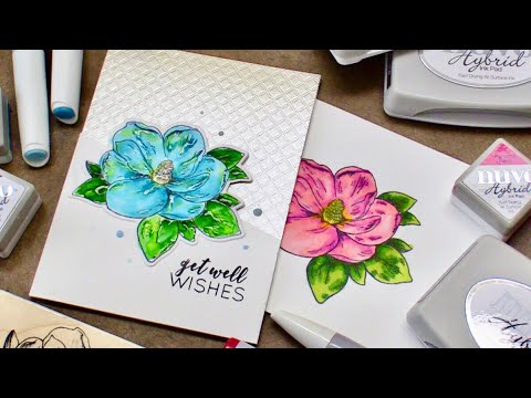 Why I Love Hybrid Inks + Coloring | LIVE Chat!