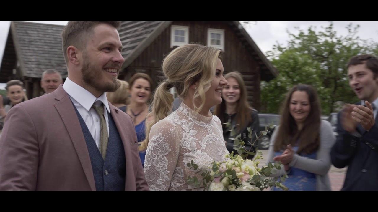 Wedding film Valda + Andris (Lithuania)