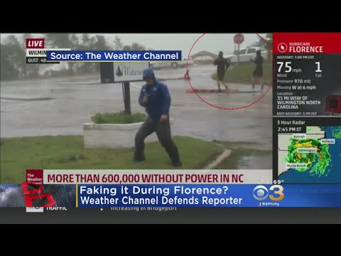 Weather Channel Responds To Claims Reporter Was Faking Cover
