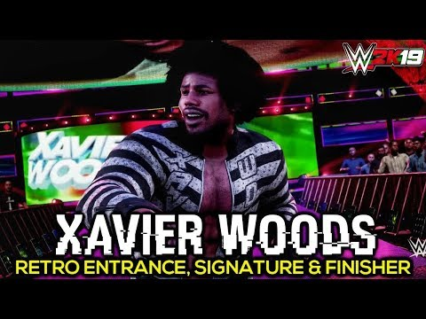 WWE 2K19 Xavier Woods Retro Entrance, Signature, Finisher & Victory Motion | PC Mods