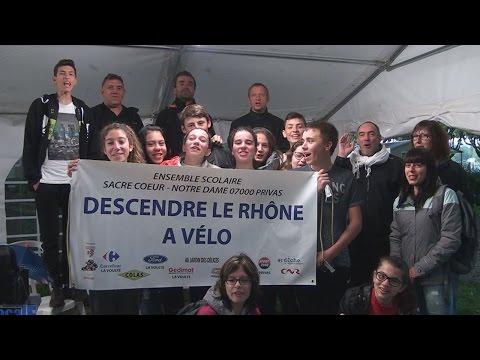 Descendre le Rhône en vélo