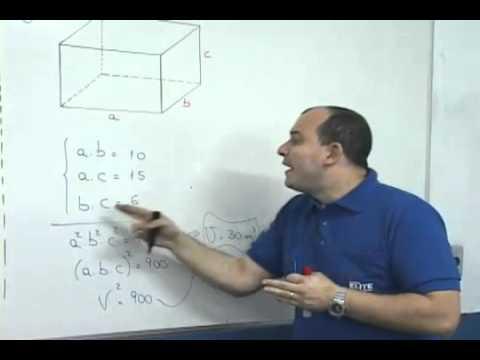 G1 - Saiba como calcular o volume de prismas um cubo e ...