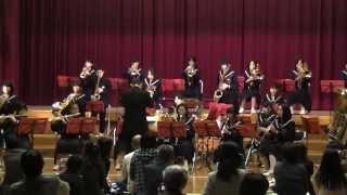 2013年 城端中学校学習発表会 吹奏楽部演奏
