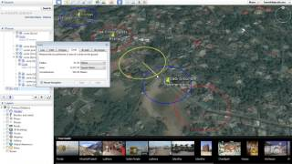 Creating Circles in Google Earth