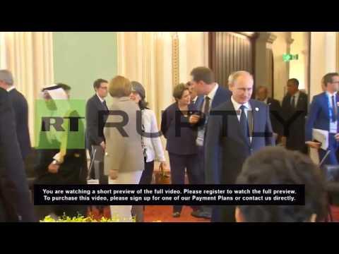 """Australia: Watch """"weird"""" Tony Abbot's """"disastrous"""" G20 opening speech"""