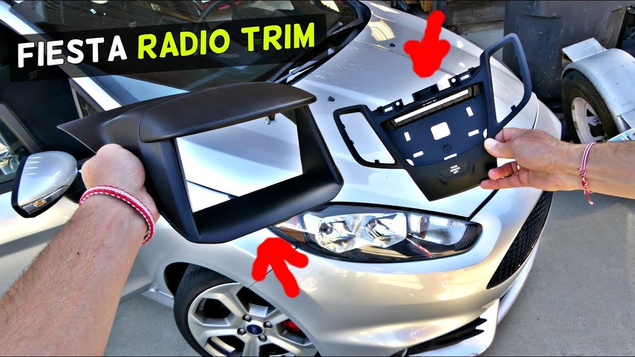 ford fiesta radio trim removal replacement mk7 st youtube. Black Bedroom Furniture Sets. Home Design Ideas