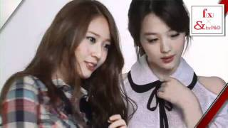 [CF Making Film] f(x) by P&D - spring summer