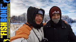 Зимняя рыбалка 2020 21 по льду с сыном жерлицы мормышка