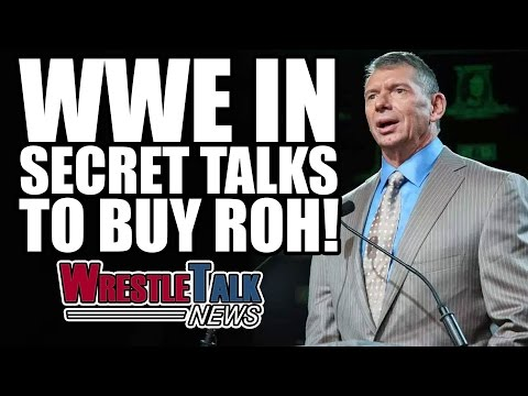 John Cena Teases Top ROH Star! WWE In Talks To Buy Ring Of H