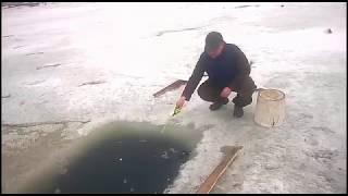 Зарисовка о зимней рыбалке. п.Оссора