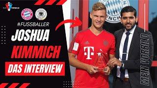 Joshua Kimmich (Fußballer beim FC Bayern München) im Interview bei MEIN VORBILD - Folge 24